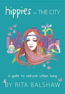 Cover of Hippies in the City by Rita Balshaw for Green Olive Press
