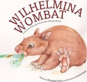 Cover of Wilhemina Wombat by Elizabeth Ostor for Green Olive Press