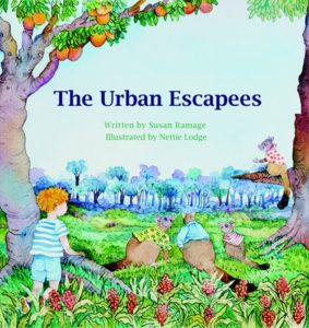 Cover of The Urban Escapees by Susan Ramage for Green Olive Press