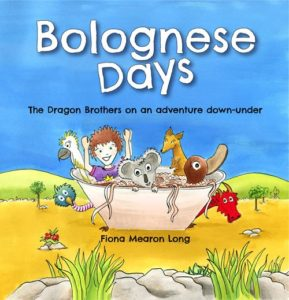 Cover of Bolognese Days by Fiona Mearon Long for Green Olive Press