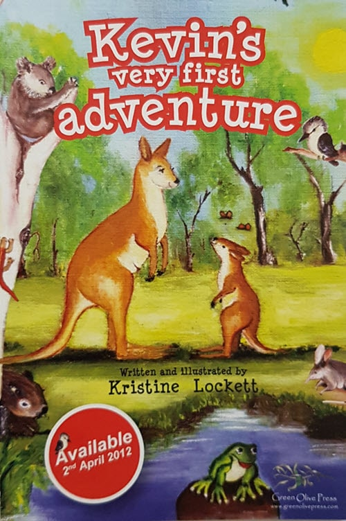 Cover of Kevins First Adventure by Kristine Lockett for Green Olive Press